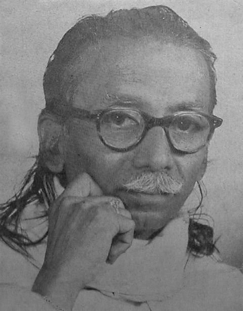 Photo of Artist Godbole's close friend Chitrakalacharya N.E.Puram