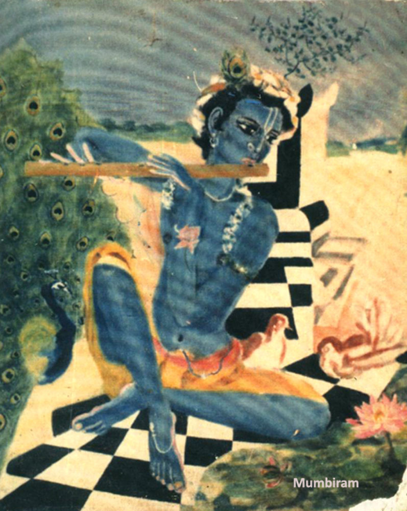 Mumbiram's Iconic Vision of Krishna- Part 2